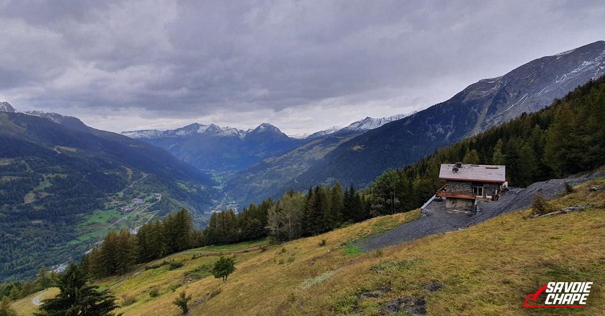 Vallée de la tarentaise sur chantier de Savoie Chape